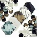 Glacial 5328 Swarovski 4mm Crystal Bicone Mix (50PK)