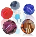 Majestic Crystal� Faceted Round Crystal Beads
