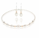 Swarovski Peaches  & Cream Necklace and Earring Design Kit