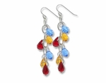 Happy Tear Drops Earrings