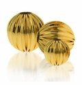 14/20 Gold-Filled  Corrugated Beads