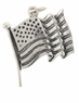 Patriotic, Service and Military Charms
