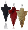 Gemstone Arrowhead Pendants