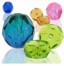 Czech Faceted Fire Polished Beads
