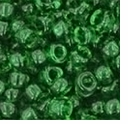 TOHO 8/0 Seed Bead:  Transparent Grass Green (10g)