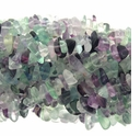 Fluorite Chips 32 inch Bead strand