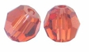 Indian Red Swarovski 5000 4mm Crystal Beads (10PK)