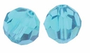 Indicolite Swarovski 5000 4mm Crystal Beads (10PK)