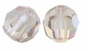 Light Colorado Topaz 5000 4mm Swarovski 5000 Round Crystal Beads (10PK)