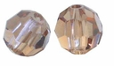 Light Smoke Topaz Swarovski 5000 4mm Crystal Beads (10PK)