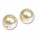8mm Light Gold Swarovski 5810 Crystal Pearls (50PK)