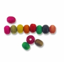Mixed Color 3x5mm Wood Beads (100PK)