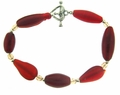 Red Glass Bracelet Design