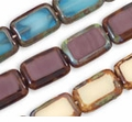 Rectangular Window Beads 8 /12mm