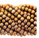 Bronze 5-6mm Potato Freshwater Pearl Beads Strand
