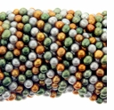 Multicolor Potato Freshwater Pearl 4-5mm Bead Strand