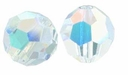 Crystal AB Swarovski 5000 6mm Crystal Beads (10PK)