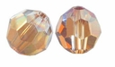 Crystal Copper Swarovski 5000 6mm Crystal Beads (10PK)