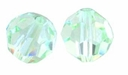 Chrysolite Swarovski 5000 6mm Crystal Beads (10PK)