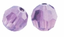 Cyclamen Opal Swarovski 5000 6mm Crystal Beads (10PK)