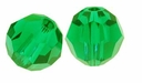 Fern Green Swarovski 5000 6mm Crystal Beads (10PK)