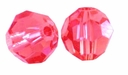 Indian Pink Swarovski 5000 6mm Crystal Beads (10PK)
