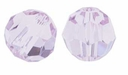 Light Amethyst Swarovski 5000 6mm Crystal Beads (10PK)
