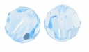 Light Sapphire Swarovski 5000 6mm Crystal Beads (10PK)