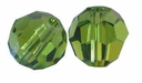 Olivine Swarovski 5000 6mm Crystal Beads (10PK)