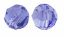 Tanzanite Swarovski 5000 6mm Crystal Beads (10PK)