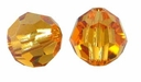 Topaz Swarovski 5000 6mm Crystal Beads (10PK)
