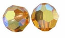 Topaz AB Swarovski 5000 6mm Crystal Beads (10PK)