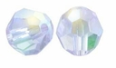 Violet AB Swarovski 5000 6mm Crystal Beads (10PK)