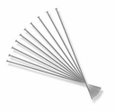 2.00 Inch Sterling Silver Head Pin 22GA (10PK)