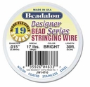 Beadalon Wire 19 Strand .015 30ft