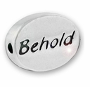 Behold Sterling Silver Message Bead