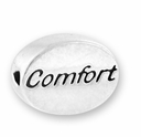 Comfort Sterling Silver Message Bead