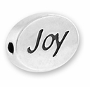 Joy Sterling Silver Message Bead