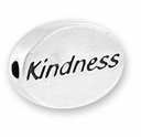 Kindness Sterling Silver Message Bead