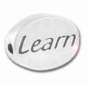 Learn Sterling Silver Message Bead