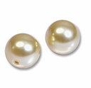 12mm Gold Swarovski 5810 Crystal Pearls (1PC)