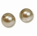 12mm Powder Almond Swarovski 5810 Crystal Pearls (1PC)
