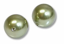 4mm Lt Green Swarovski 5810 Crystal Pearls (50PK)