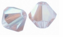 Crystal AB Satin 5328 4mm XILION Bicone Beads (10PK)