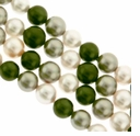 "Multi-Color 2012 8mm South Sea Pearls 16"" Strand"
