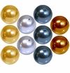 Swarovski Crystal 10mm Round Pearl Beads