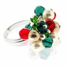 Christmas Swarovski Ring Jewelry Design Kit