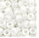 TOHO Seed Bead Size 8/0: Opaque-Lustered White (10g)