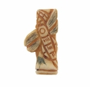 Hand Carved Bone 35mm Bamboo Dragonfly Bead (1PC)
