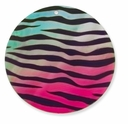 60mm Rainbow Zebra Shell Pendant (1PC)